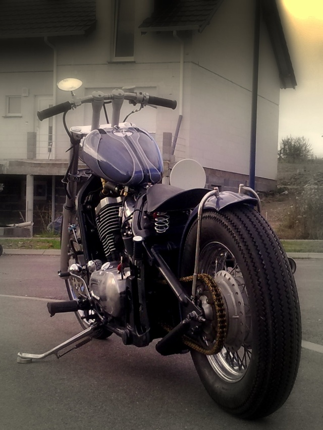 800 VN - transfo d'un vn 800 A en vrai chopper old school .. Photo044
