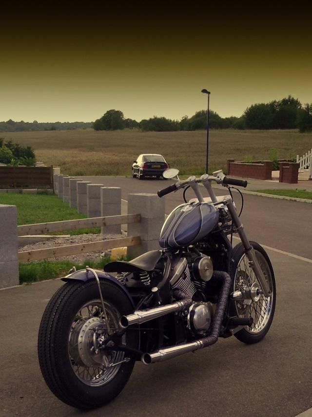 800 VN - transfo d'un vn 800 A en vrai chopper old school .. Vn_80010