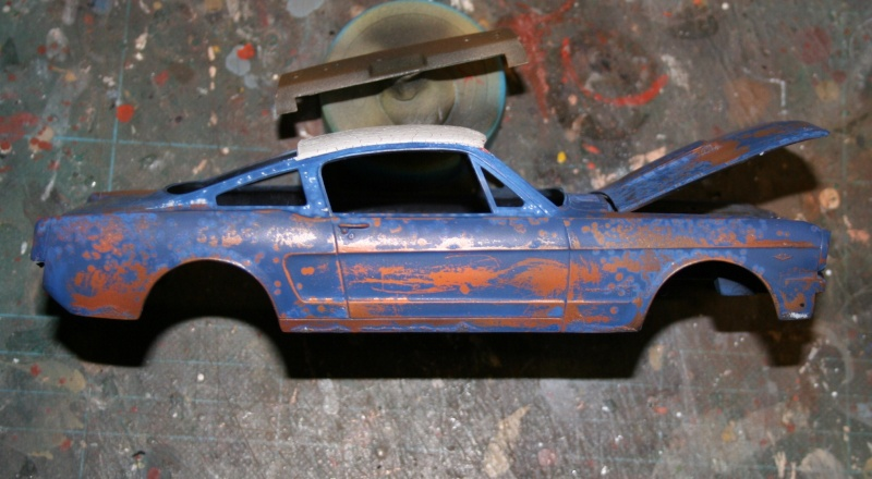 peinture - (panzer-model) Shelby Mustang 350 GT H - Page 3 Img_5725