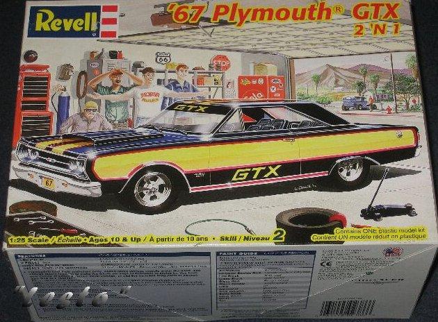plymouth GTX 67 fini 19672010