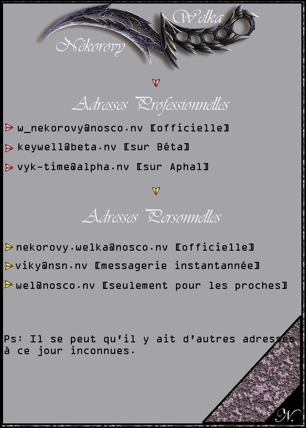 Nékorovy Welka Courri13
