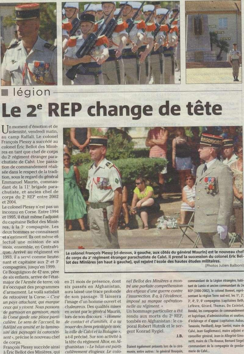 PASSATION DE COMMANDEMENT  CHEFS DE CORPS  2 REP 2010 - Page 2 09-08-10