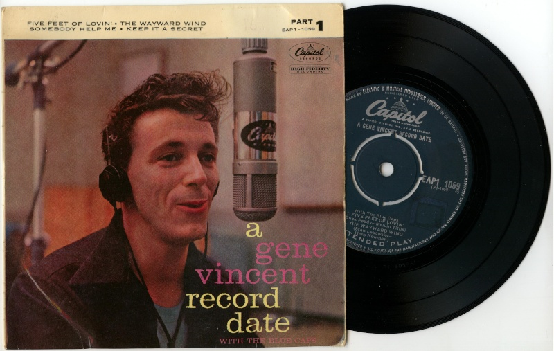 Echange EP UK GENE VINCENT Couleu10
