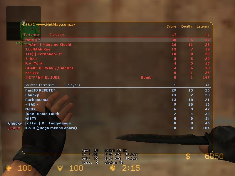 Screens de scores! De_dus14