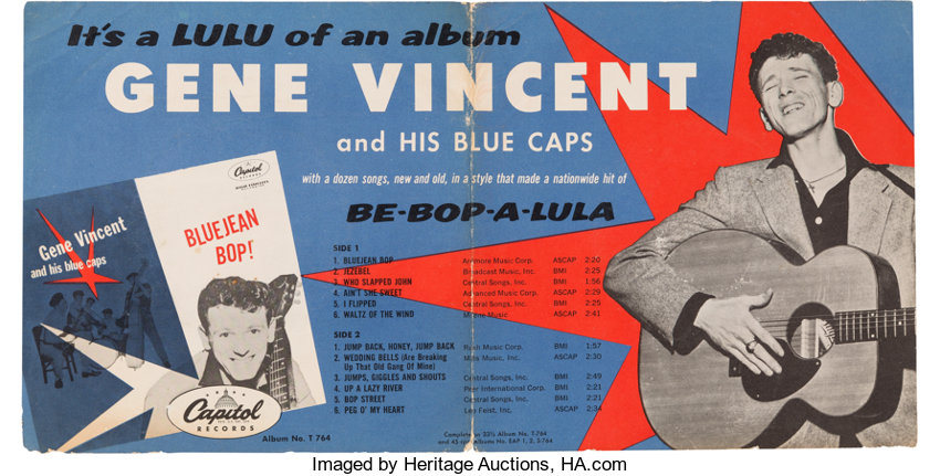 Gene Vincent BLUE JEAN BOP Sessions ...  Gvp10