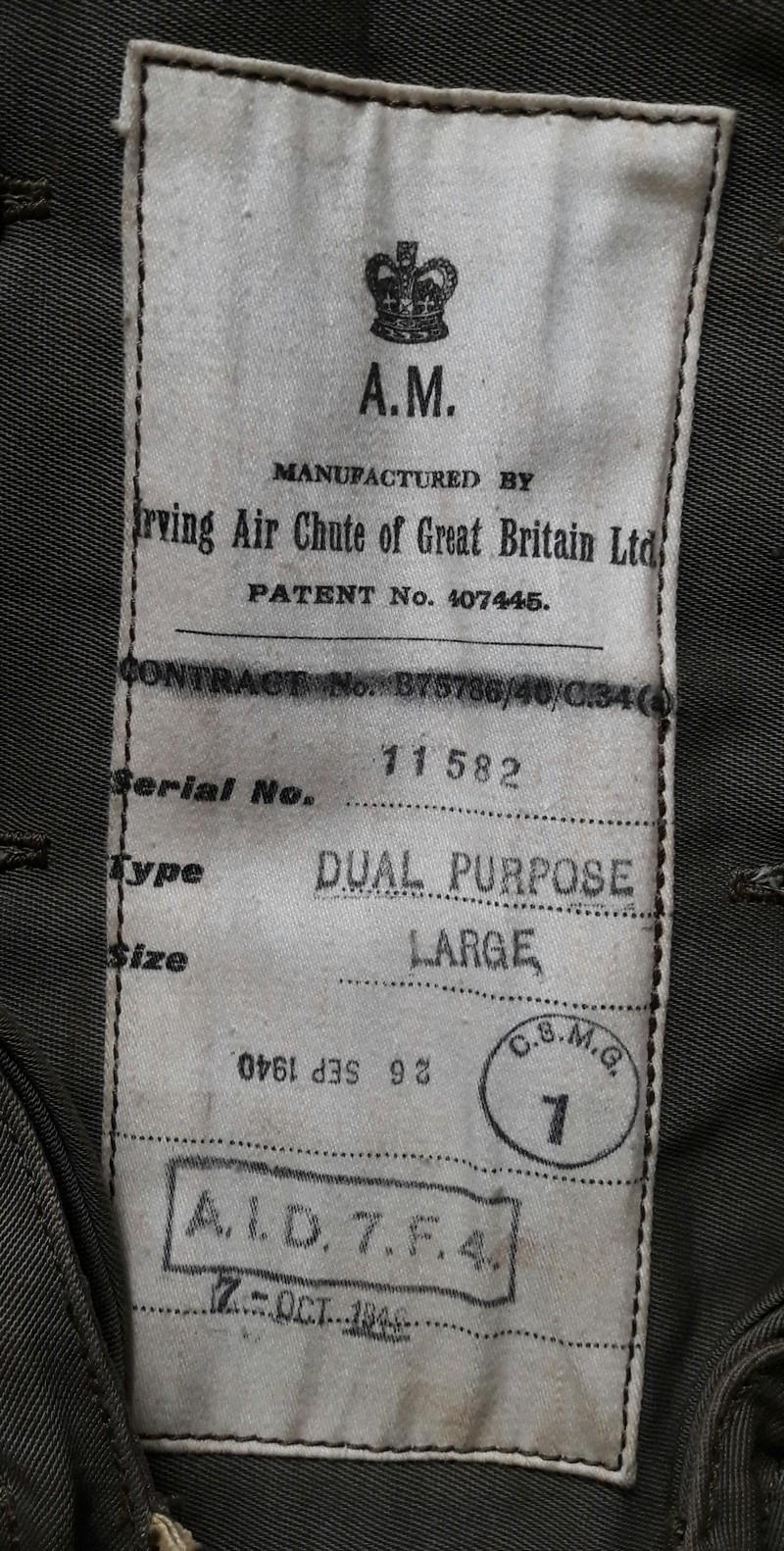 Royal Air Force WW2 Etique12