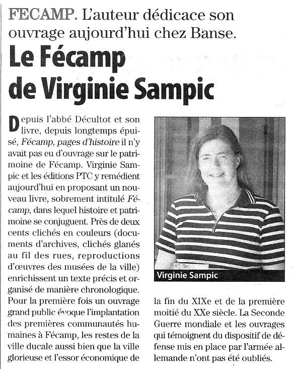 Le Fécamp de Virginie SAMPIC Fecamp10