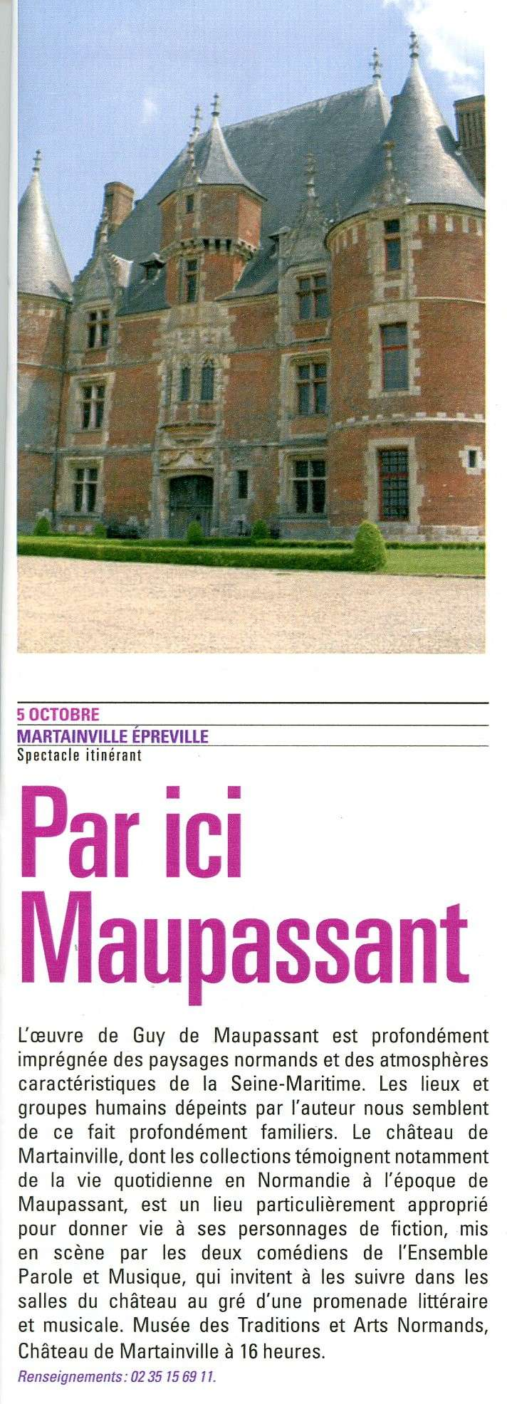 Martainville Epreville - Par ici Maupassant Martai10