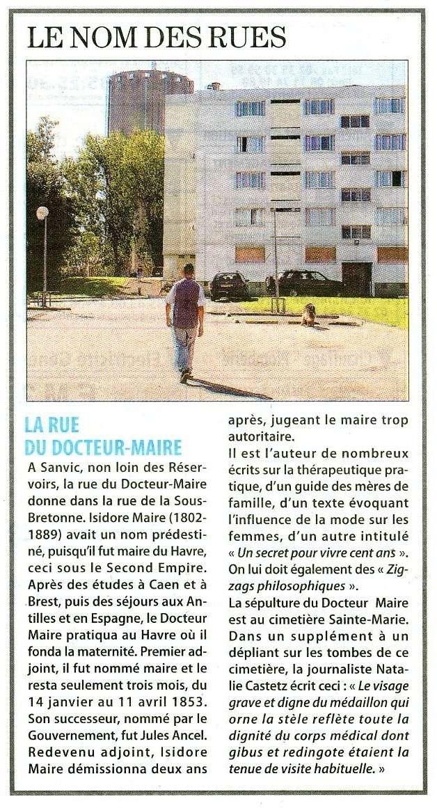 SANVIC - Le Havre - Rue du Docteur-Maire Rue_do10