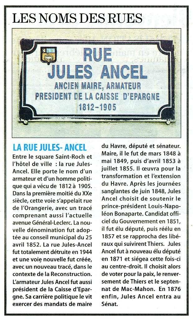 Le Havre - Rue Jules Ancel Rue_ju10