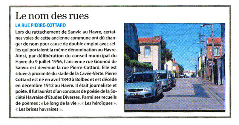 SANVIC - Sanvic - Rue Gounod > Rue Pierre-Cottard Rue_pi10