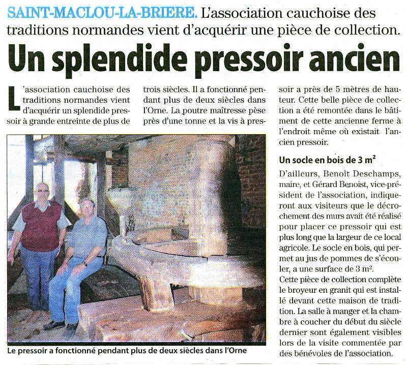 Saint-Maclou-la-Brière - Un splendide pressoir ancien St_mac10