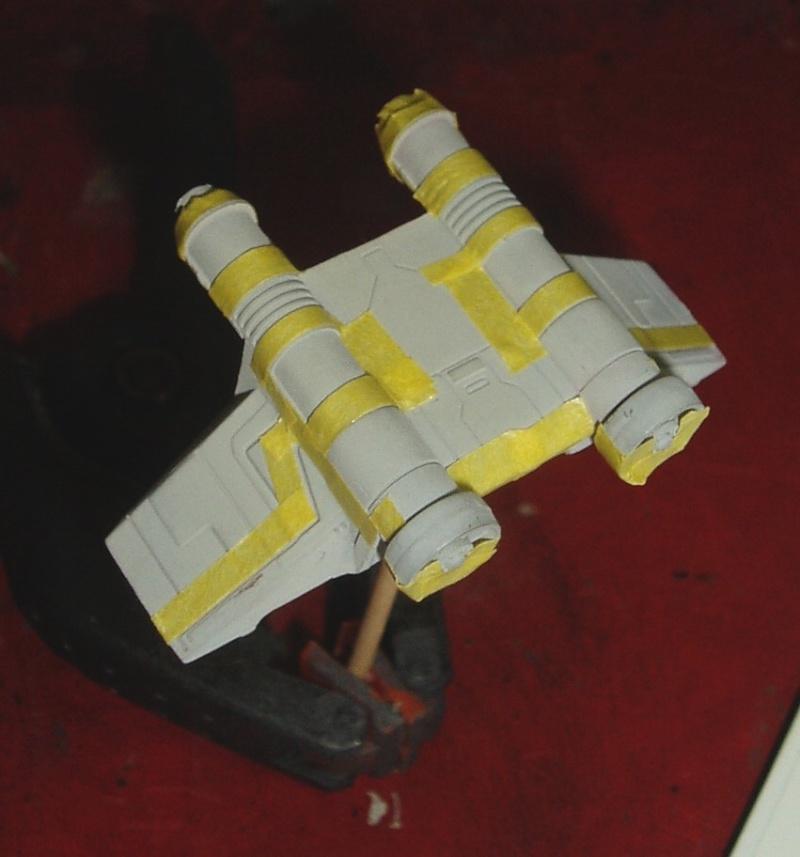 Mini Republic Gunship Revell - versions Infantrie & Cargo Masqua11