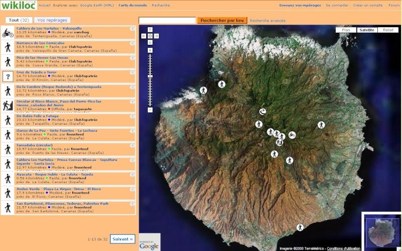 WikiLoc : des itinéraires vers Google earth. Captur19