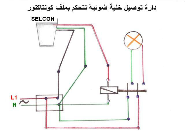 مخططات الدارات الكهربائية المنزلية 1610
