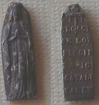 medalla Nuestra Señora de Lourdes Placa10