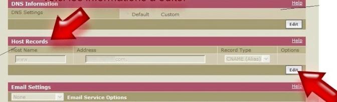 Как организовать переадресацию с доменного имени, купленного не на Forum2x2 Redire11