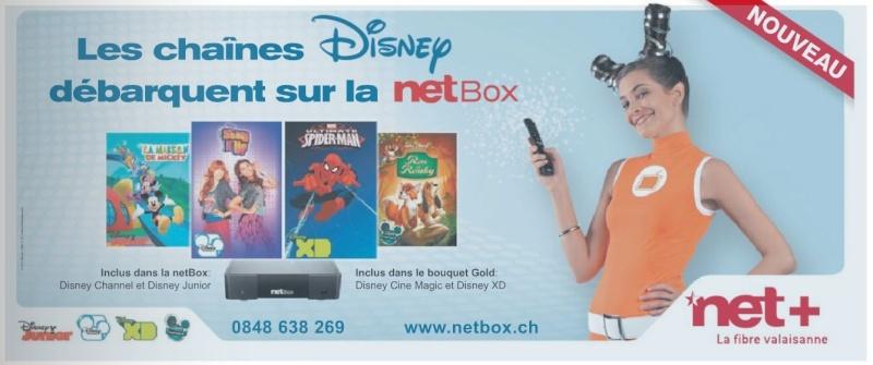 Nouvelles chaînes pour octobre Netbox10
