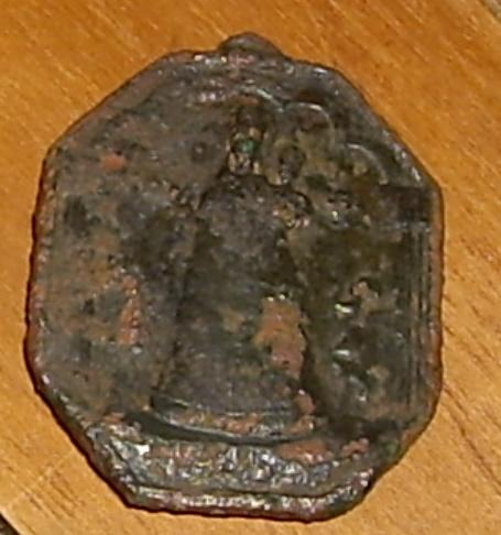 Très grosse médaille Vierge et ?? - XVIIème Imgp1816