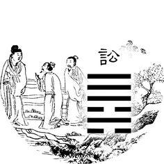 Lecture Yi King Richard Wilhelm traduit Perrot (Yi jing commentaire Ta Tchouan) 06_i_i10