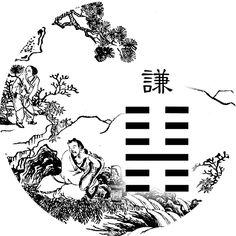 Lecture Yi King Richard Wilhelm traduit Perrot (Yi jing commentaire Ta Tchouan) 15_ii_10