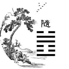 Lecture Yi King Richard Wilhelm traduit Perrot (Yi jing commentaire Ta Tchouan) 17_ii_10