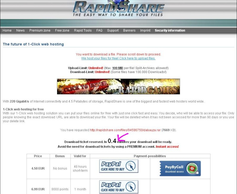 Tutorial descarga archivos rapidsahare 210