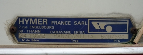 Eriba Familia de 1973 N_seri10