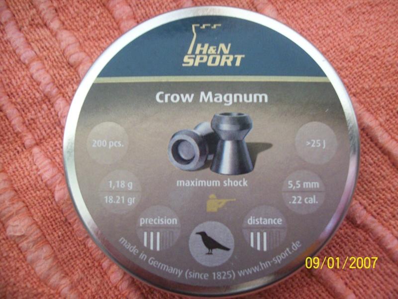 Plomb H&N Crow Magnum  100_1811