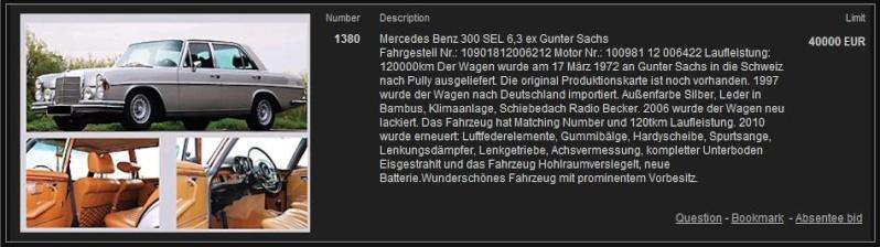 300SEL 6.3 de Gunter Sach 00227