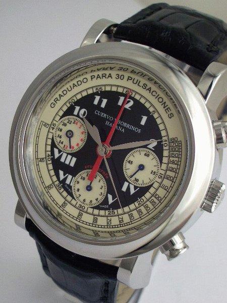 Montres Cuervo y Sobrinos - Plaisirs horlogers de Cuba Cuervo11