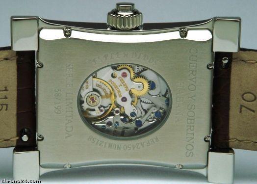 Montres Cuervo y Sobrinos - Plaisirs horlogers de Cuba Monopu10