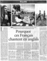 "Actualité de ""My friends all died in a plane crash"". Figaro10"