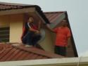 SPEAKER BARU SURAU II SELAMAT DI PASANG PADA 11/1/2008 P1030412