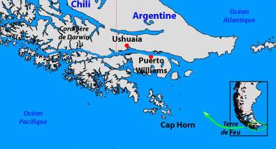 Argentine--> Ushuaïa Carte10