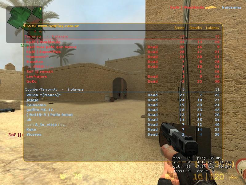 Screens de scores! De_dus12