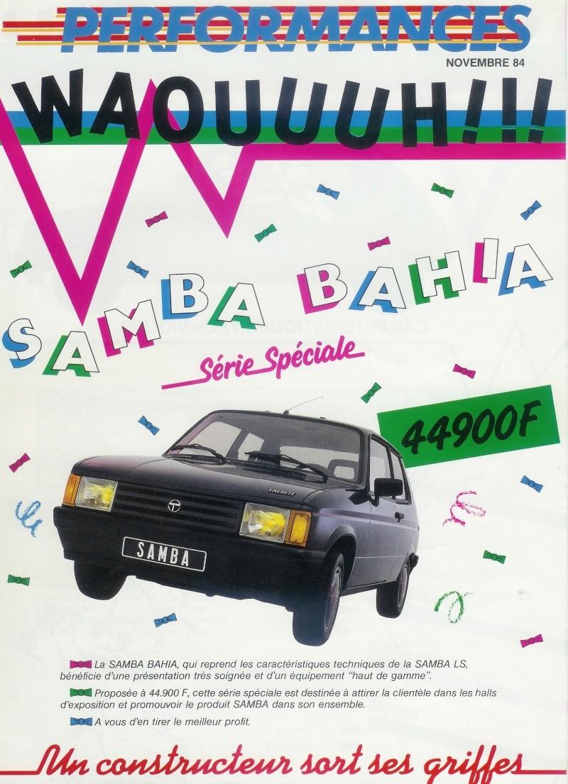 Samba Bahia Numeri19