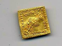 Alemania - moneda  Klippe de Oro Moneda12