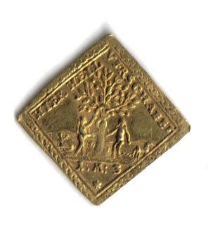 Alemania - moneda  Klippe de Oro Moneda20