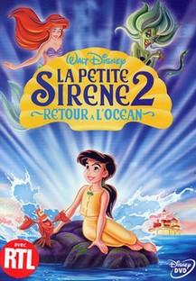 """La Petite Sirène 2 """"Retour à l'océan Affich12"""