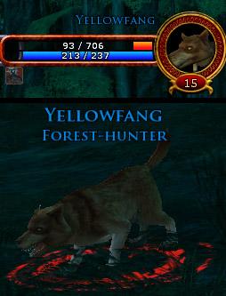 The hunter's path (level 15) Yellow11