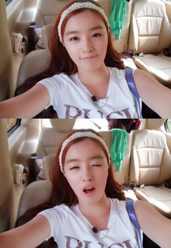 [100721] Secret's Sunhwa falls in love with taking pictures 20100710