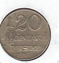 Símbolos e iconos de las monedas. Brasil10