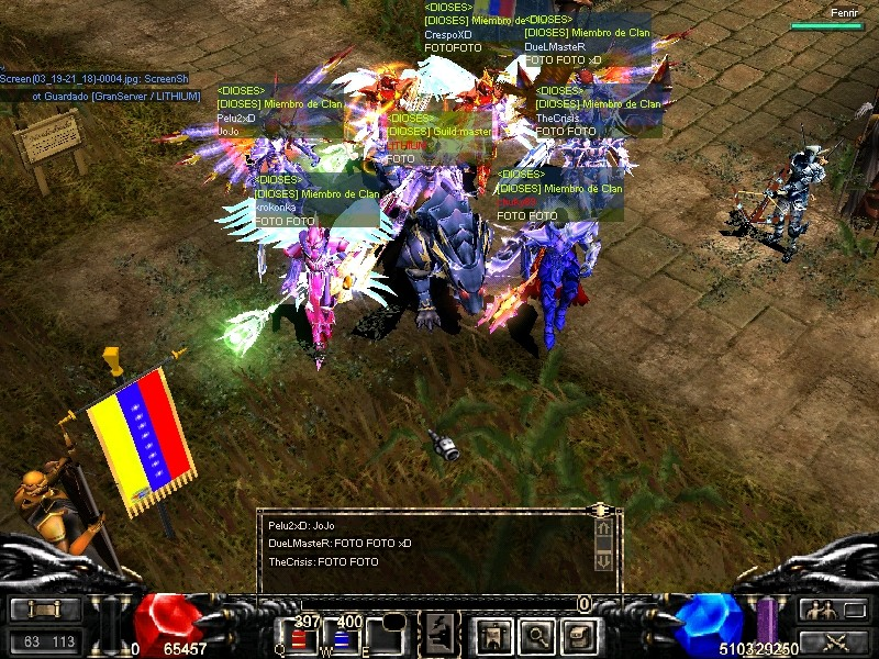 Guild [DIOSES] THE MASTERS OF SERVER Screen11