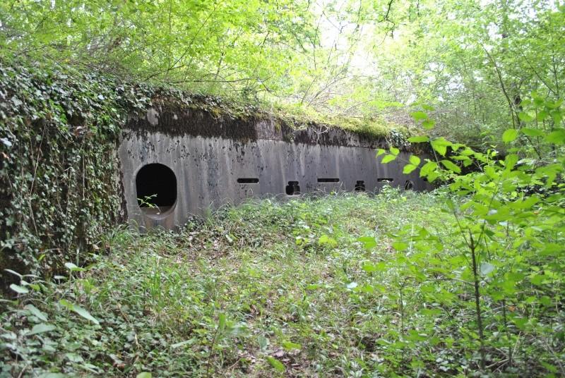 [Metz] la casemate cuirassée de l'I-werk Bois-la-Dame 08110