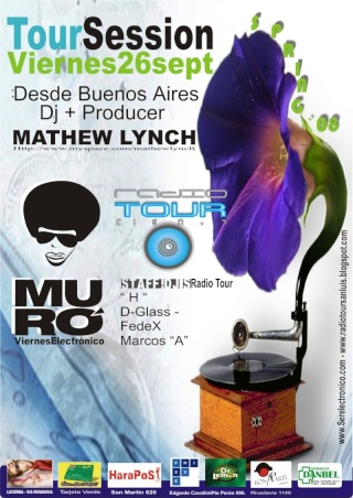 MATHEW LYNCH EL VIERNES 26 EN SAN LUIS - TOURSESSION Muro_m10