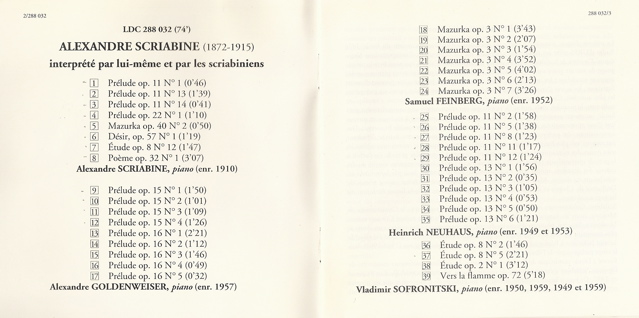 Scriabine (1872-1915) Oeuvres pour piano hors sonates - Page 2 Scan0311