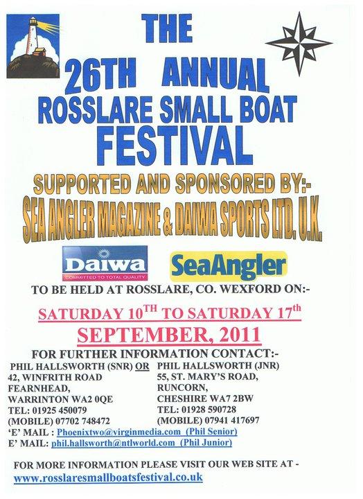 The 26th Rosslare Small Boat Festival 16474610