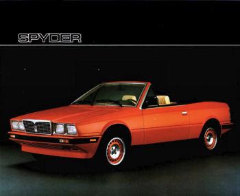 Possibile acquisto Maserati Spyder. Help! Biturb10