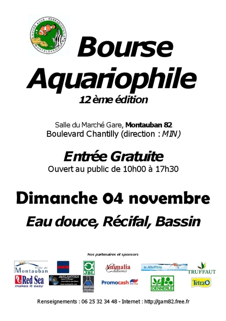 Forum Aquariophile du Club AquarioClub47 - Portail Affich12